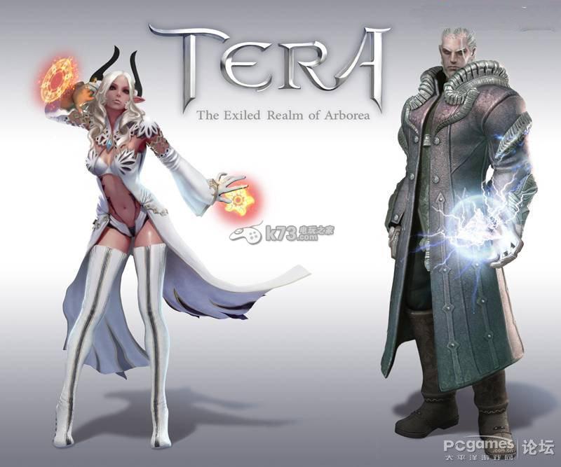 TERA各个种族适合的职业